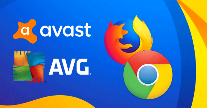 Tiện ích mở rộng của Avast và AVG lén theo dõi người dùng trình duyệt FireFox và Chrome