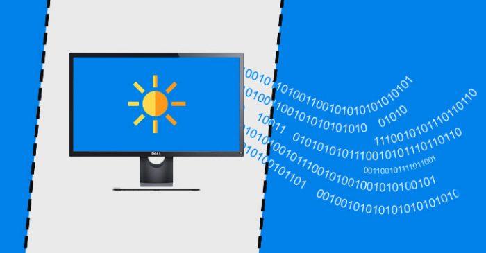 hack dữ liệu thông qua độ sáng màn hình