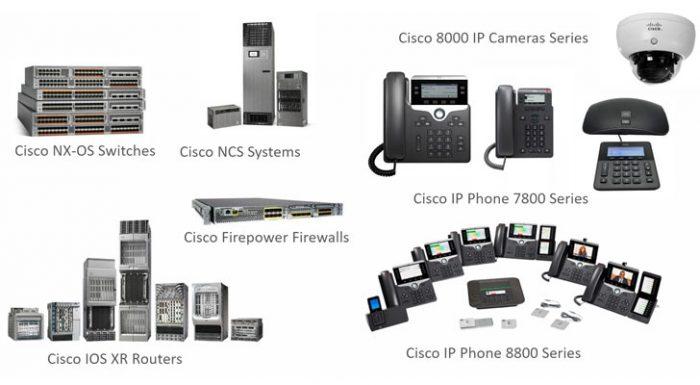 các thiết bị Cisco bị hack