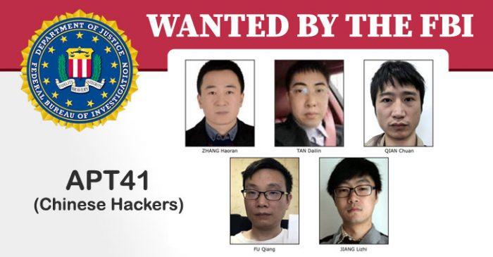 5 tin tặc Trung Quốc