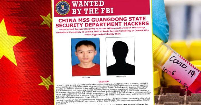 Mỹ buộc tội hai tin tặc Trung Quốc