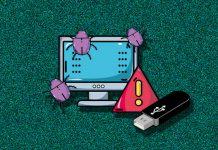 usb botnet malware đào tiền ảo