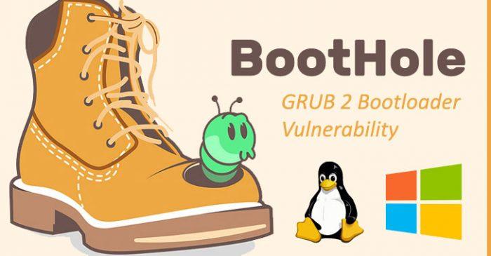 Phát hiện lỗi bảo mật trên Grub2 Bootloader