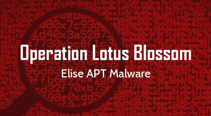 Operation Lotus Blossom APT - Malware Elise